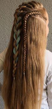 Tener el pelo largo Aquí están los peinados que debes probar #BraidedHairstyle click n ..., #Braided ... #peinadosrizados #peinadoscoleta #peinadoselegantes # Braids tutorial for beginners Tener el pelo largo Aquí están los peinados que debes probar #BraidedHairstyle click n ..., #...