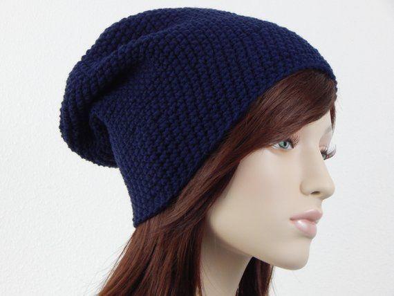Navy Blue Slouch Hat 5ff18d180e4