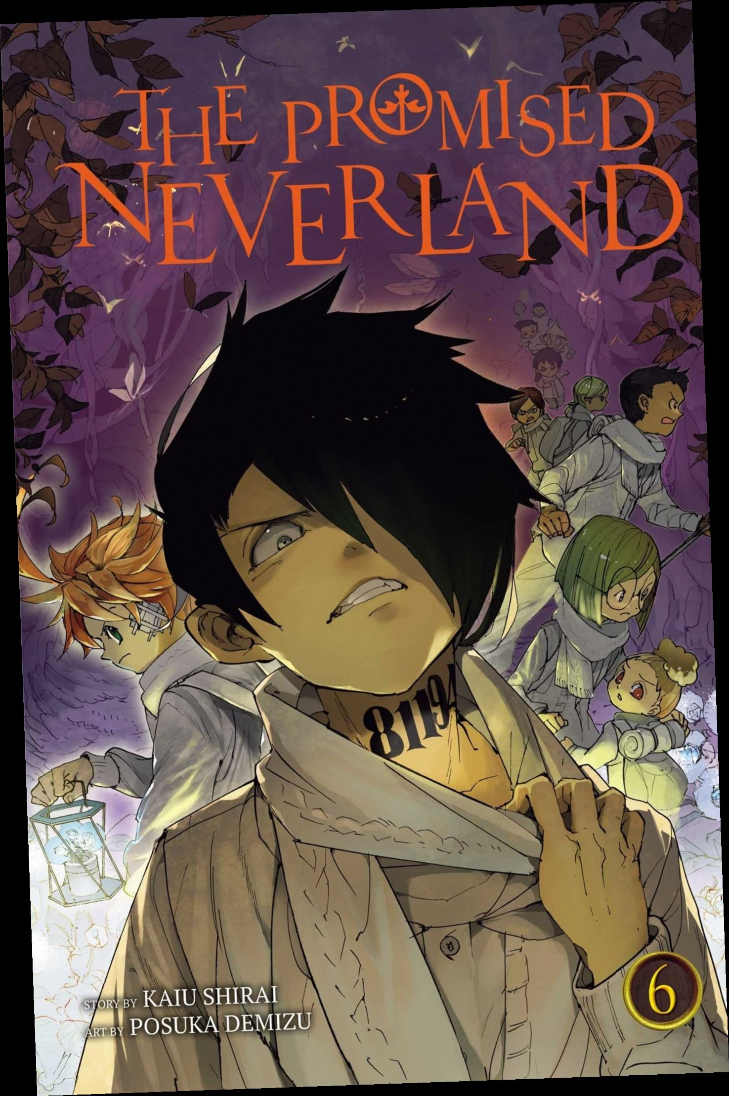 Ebook Pdf Epub Download The Promised Neverland Vol 6 By Kaiu Shirai Japanese Poster Design Aesthetic Anime Neverland Art