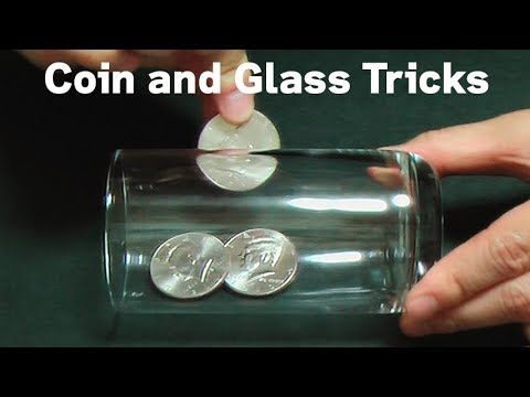 Photo of 5 Coin Trough Glass – Magic Tricks