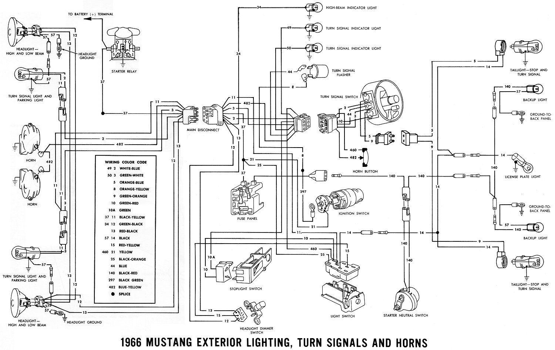 medium resolution of 1966 mustang wiring diagrams average joe restoration in 1966 mustang wiring diagram