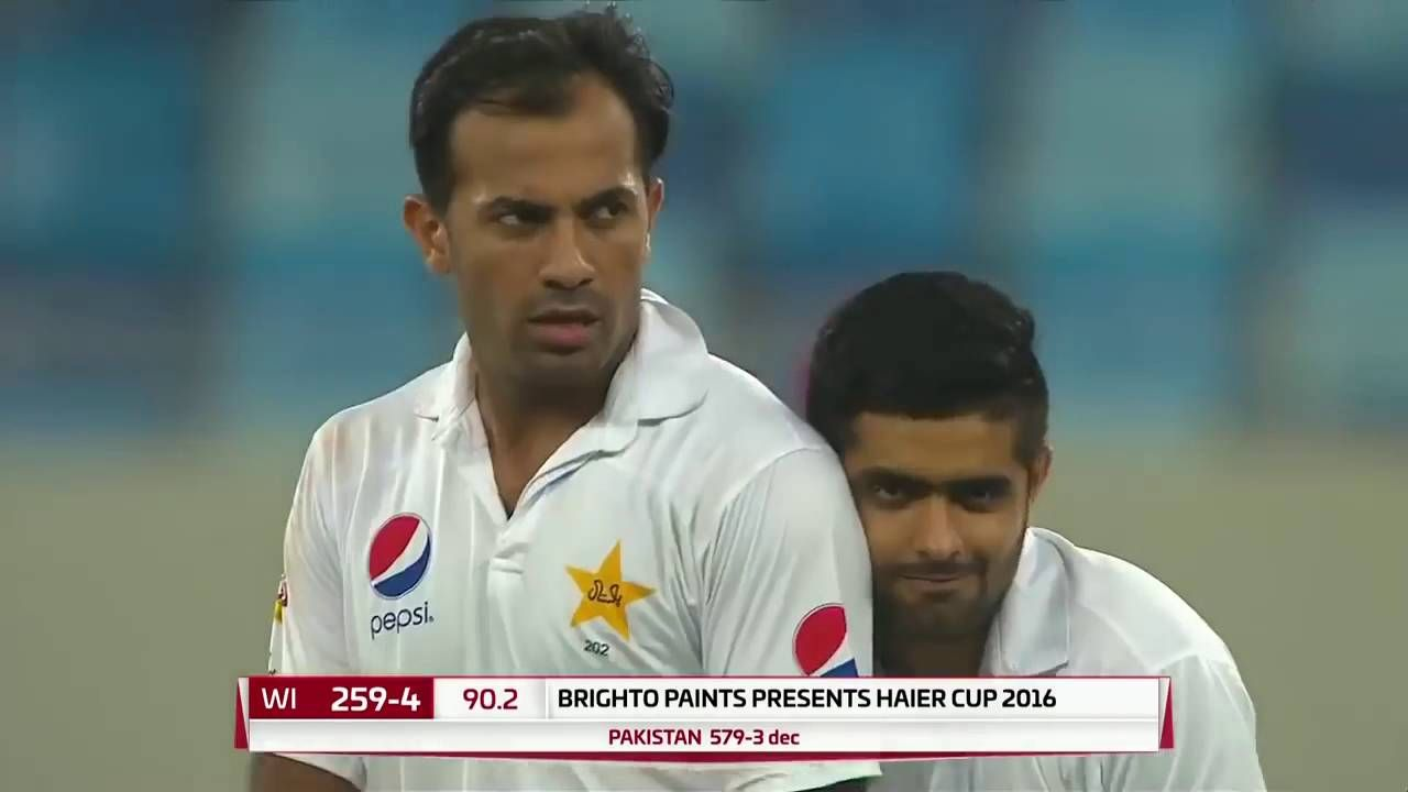 Pakistan vs West Indies 2016  1st Test Day3, Wicket Highlights