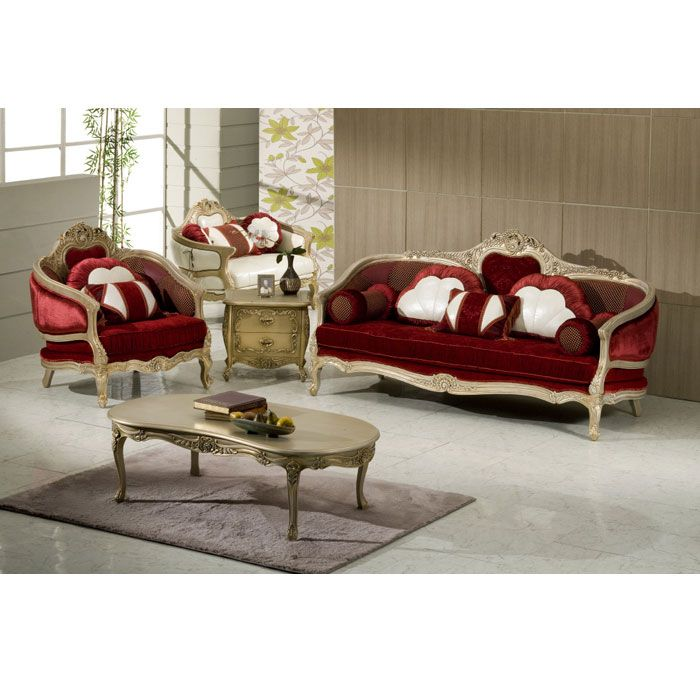 French Style Sofa Set Furniture Muebles Sillones Escondites