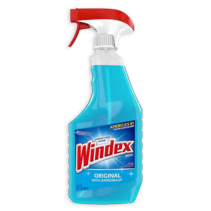 Windex 23 Oz Glass Cleaner Bed Bath Beyond In 2020 Glass Cleaner Cleaning Glass Windex