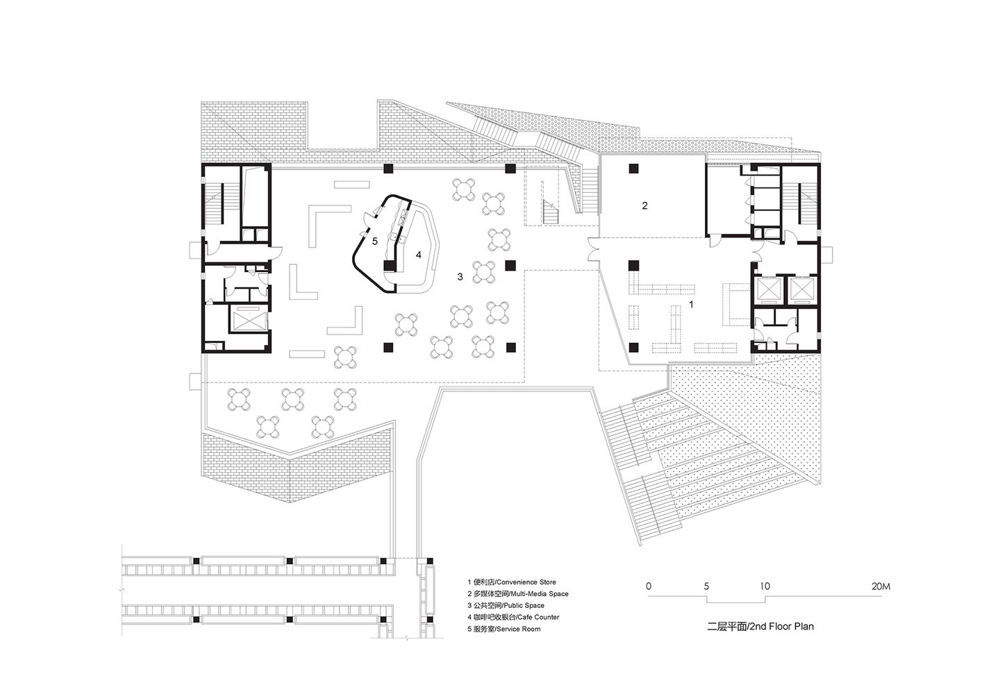 Gallery Of Tsinghua Ocean Center Open Architecture 38 Open Architecture Architecture Floor Plans