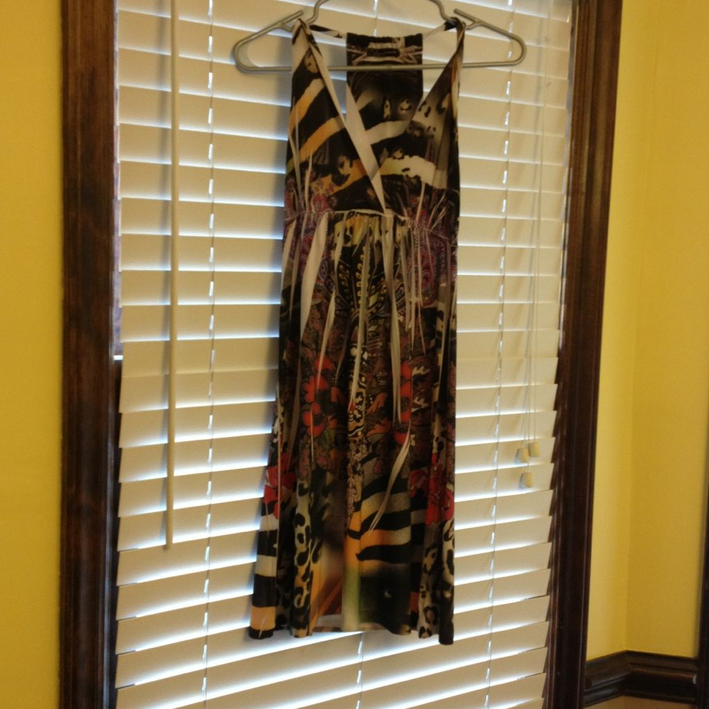 Color In Motion Silky Feel Pint Dress Small
