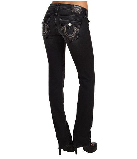 True Religion Billy Straight Bead Stitch in Independence at 6pm.com