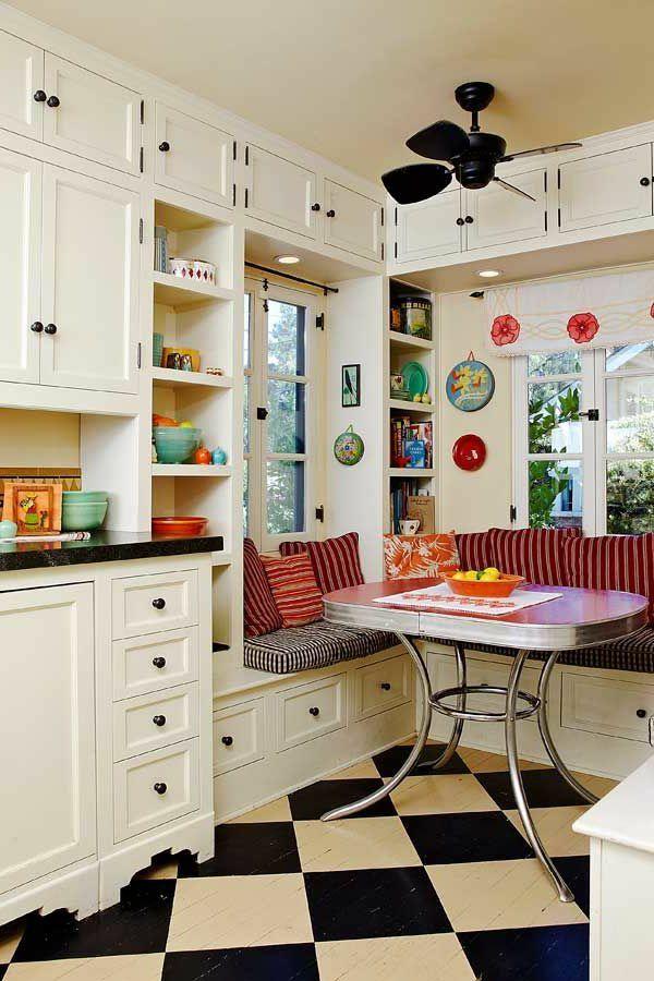 eckbank esszimmer schubladen auflage dekokissen Küche - esszimmer mit eckbank
