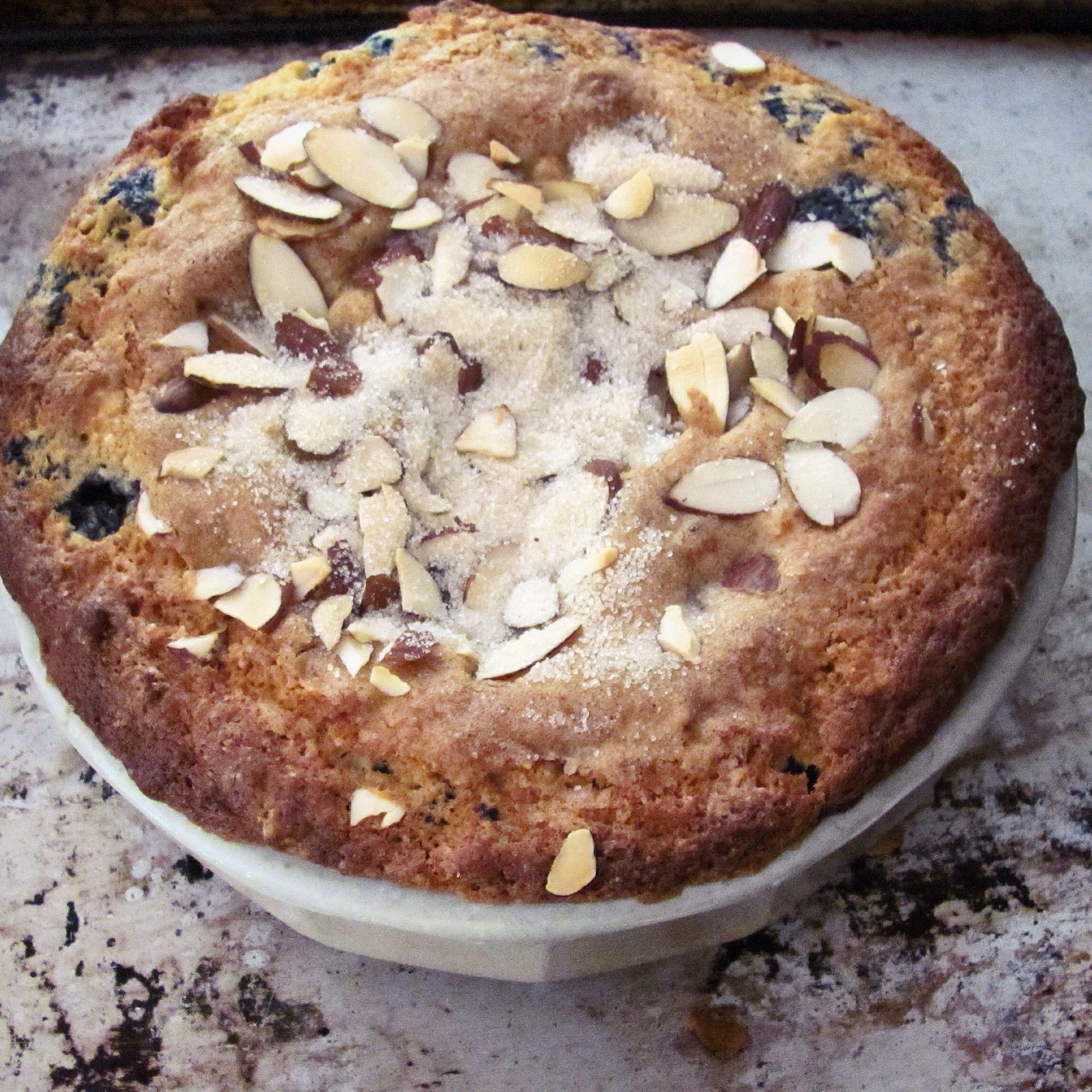 Blueberry almond cake almond cakes blueberry almond