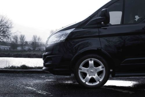 "4 955kg Commercial Alloy Wheels 16"" Van Ford Transit 5x160 6.5x16"