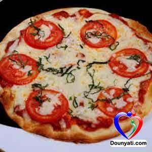 دنيتي طريقة عمل بيتزا مارغريتا Food Vegetable Pizza Vegetables