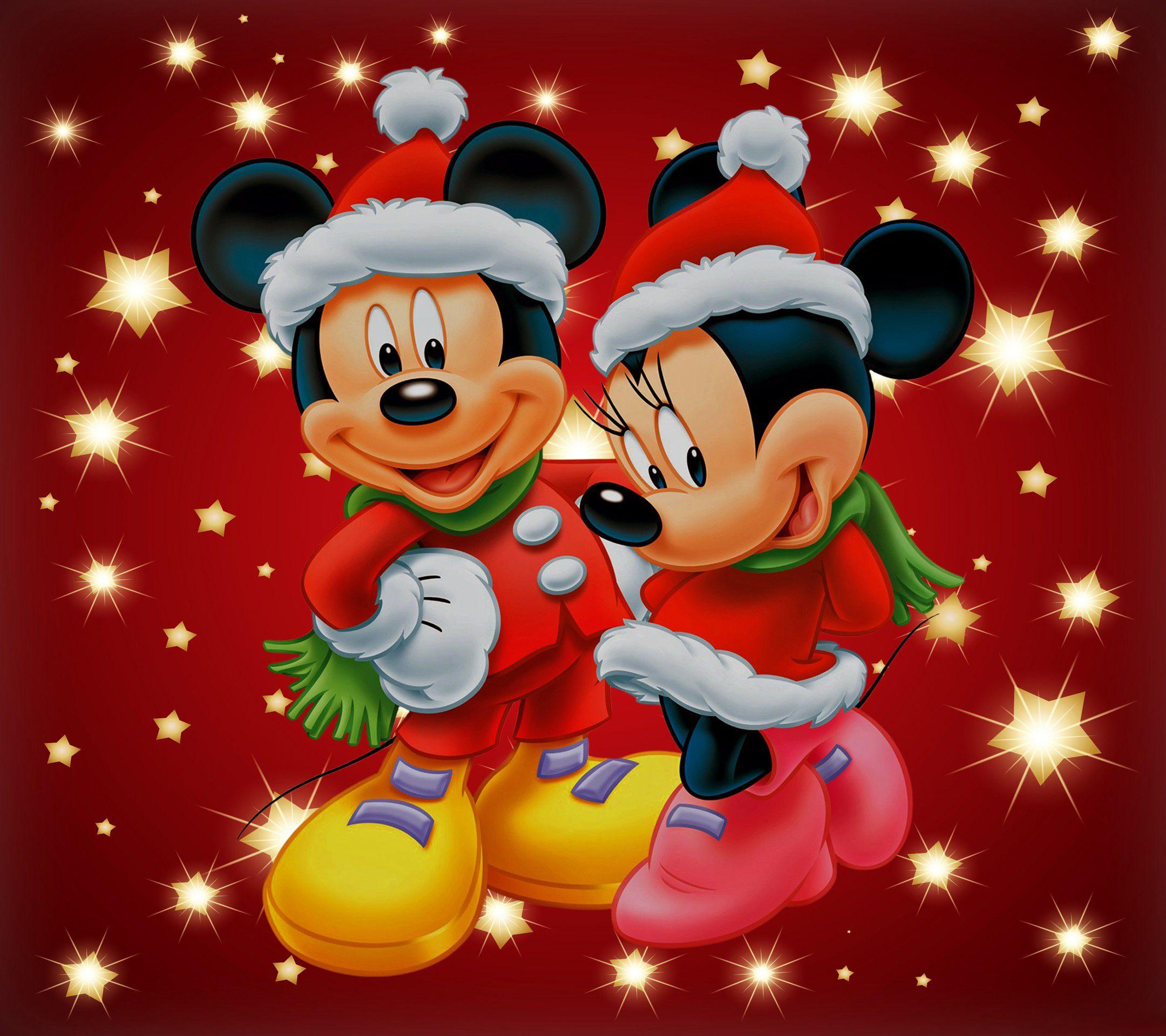 Mickey Mouse Ipad Wallpaper Dibujos Animados Navidenos Fondo De Mickey Mouse Mickey Mouse Navideno