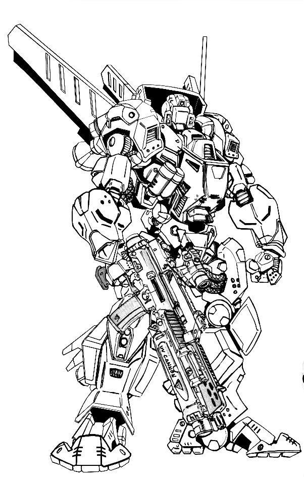 Icarus Medium Experimental Battlemech: Jihad Era 55 tonner