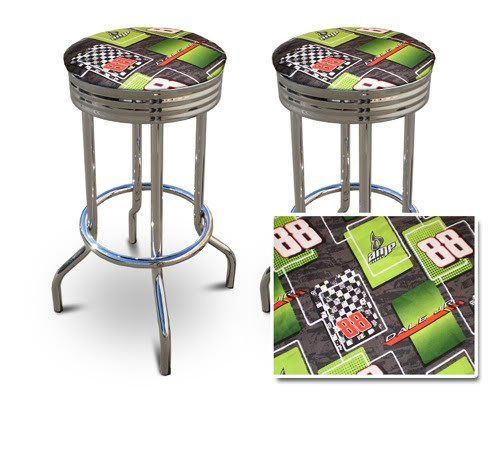 29 Specialty Chrome Barstools 2 Stools Dale Earnhardt Jr By