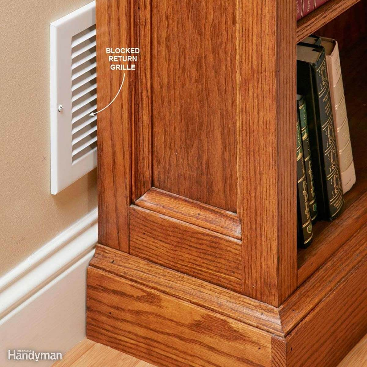 A DIYer's Guide to Heating Repair Cold air return