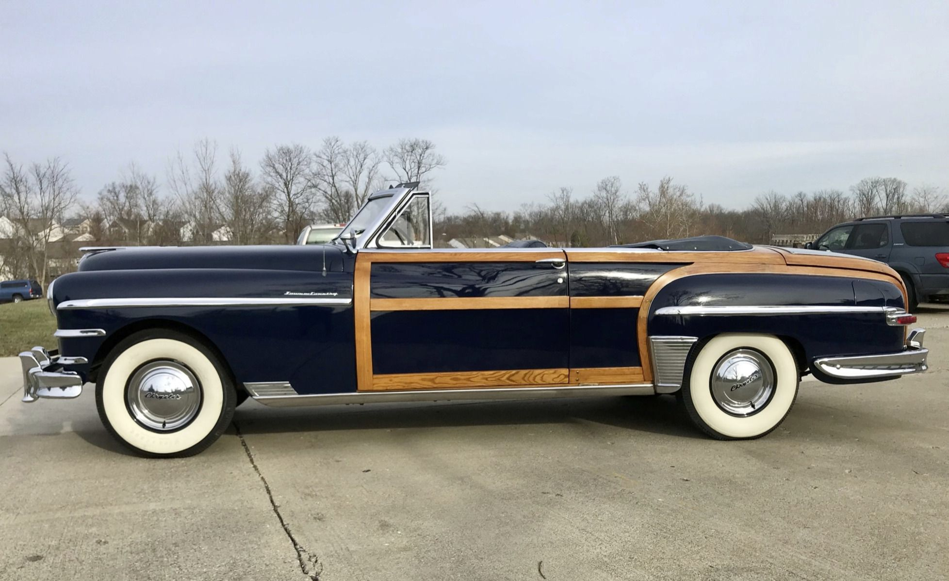 32yearsowned 1949 chrysler town country classic cars