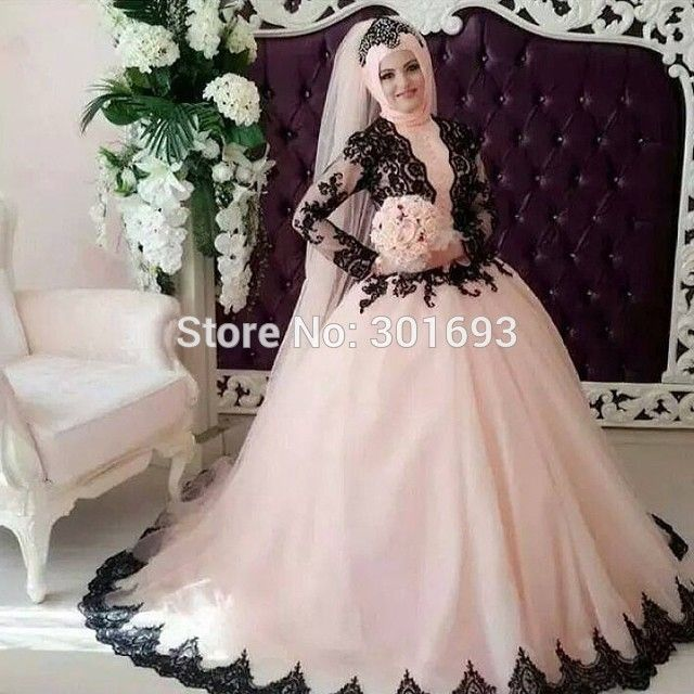 Compare Prices on Pink and Black Wedding Dresses- Online Shopping ...
