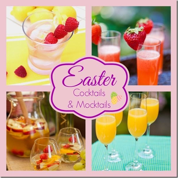 Easter Cocktails And Mocktails