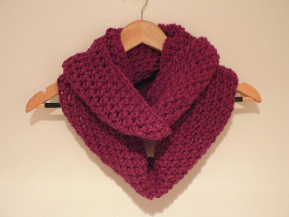 This Is A Super Dooper Easy Pattern To Make An Infinity Scarf