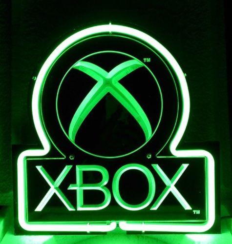 sb388 xbox video game neon light d co gamer pinterest mathieu geek culture et d corations. Black Bedroom Furniture Sets. Home Design Ideas