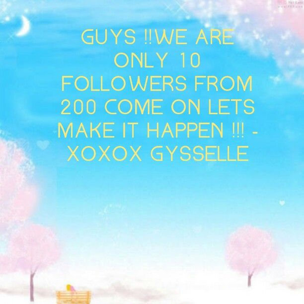 Come on guys !! Repin this pic do anything you can !-XOXOX Gysselle
