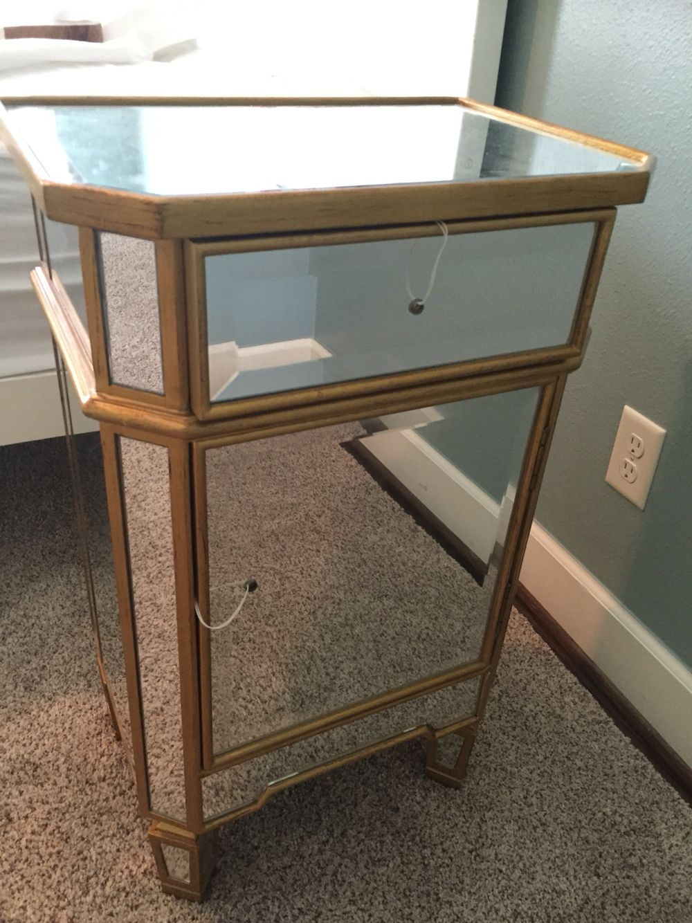 Best Stg0043 Small Gold Mirrored Side Tables Side Table Table 400 x 300