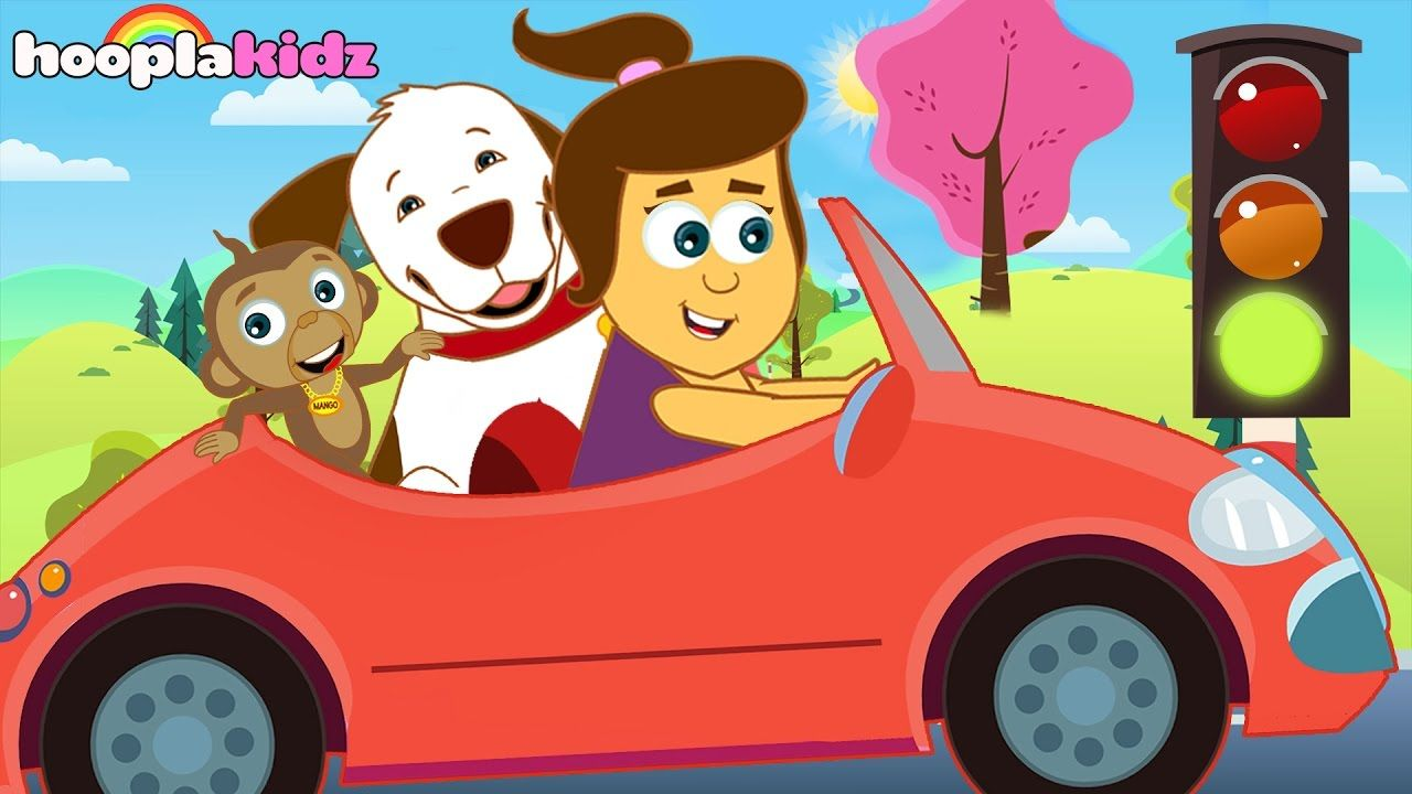 Little Red Car >> Driving In My Car Song The Little Red Car Song Original