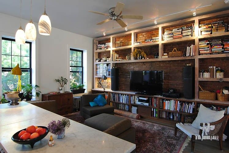 Love These Built In Shelves Around The Tv A Design To Die For