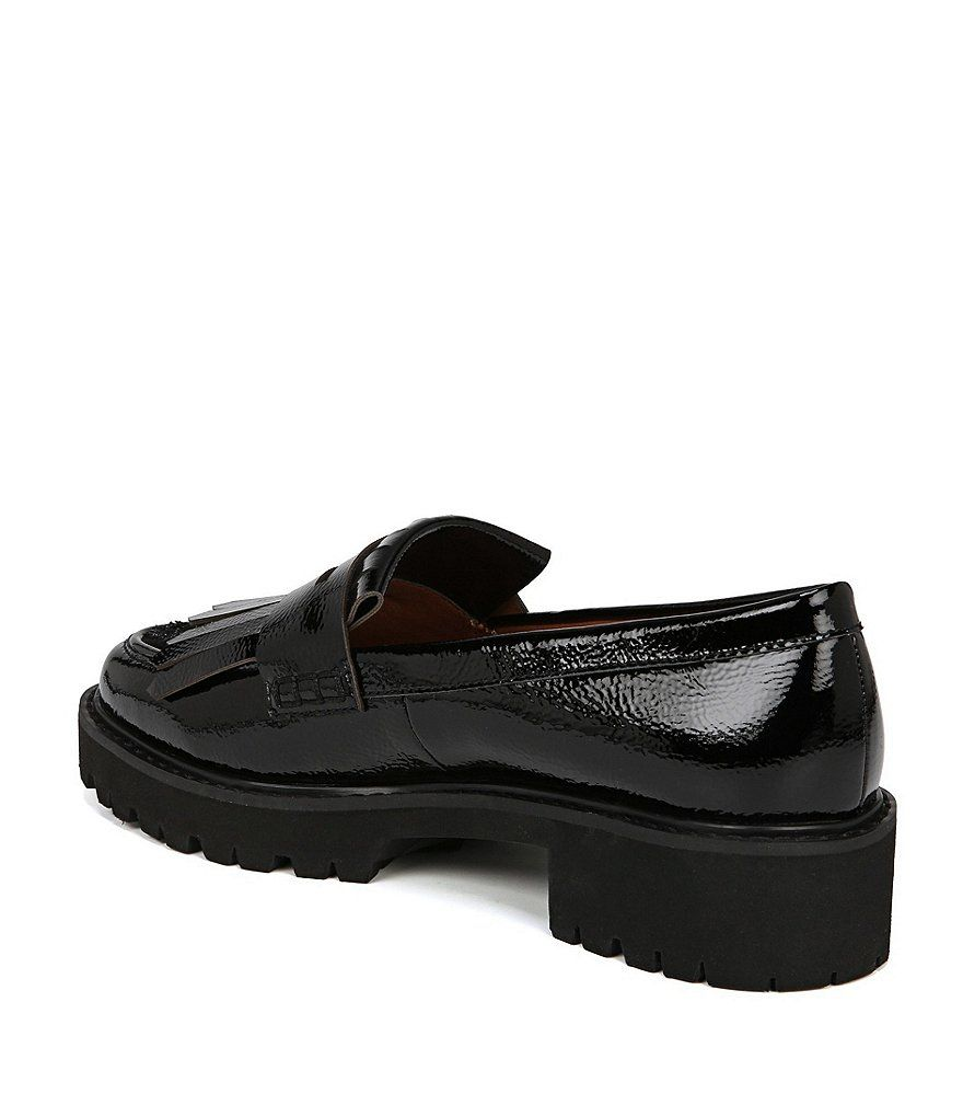 Block heel loafers, Heeled loafers, Loafers