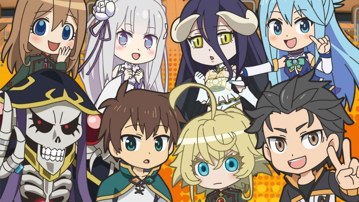 Isekai Quartet Season 3 Announced