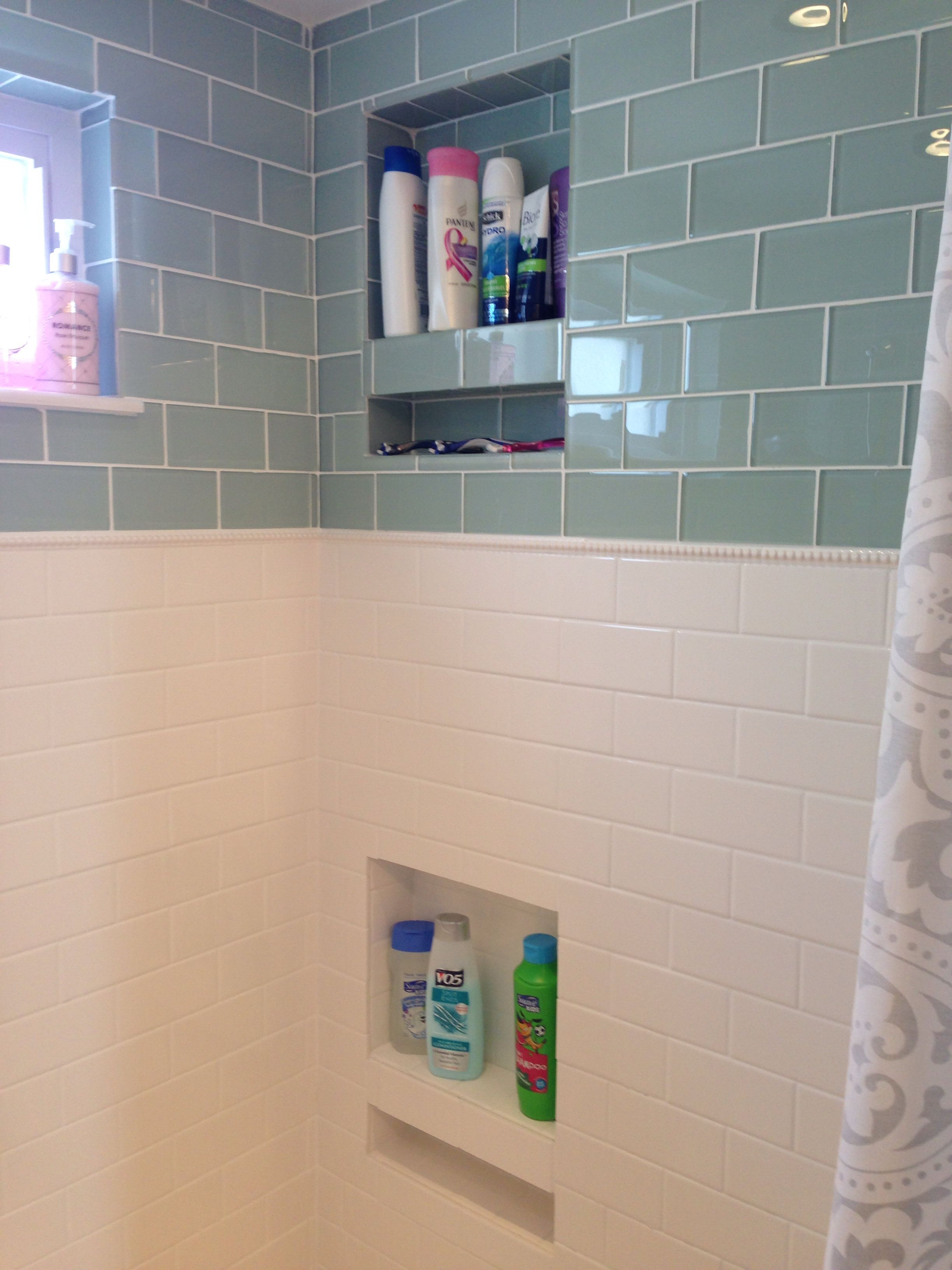 Gl Subway Tile Clic Dotted Pencil American Olean White