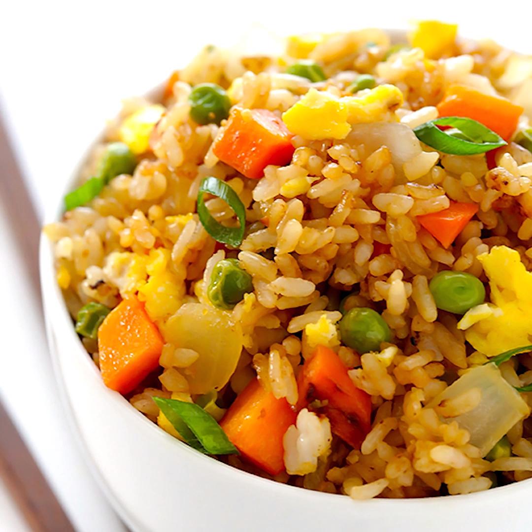 Fried Rice -   18 healthy recipes Shrimp tofu ideas