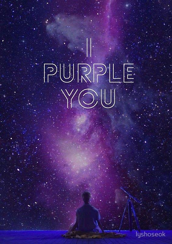 BTS I PURPLE YOU Spiral Notebook