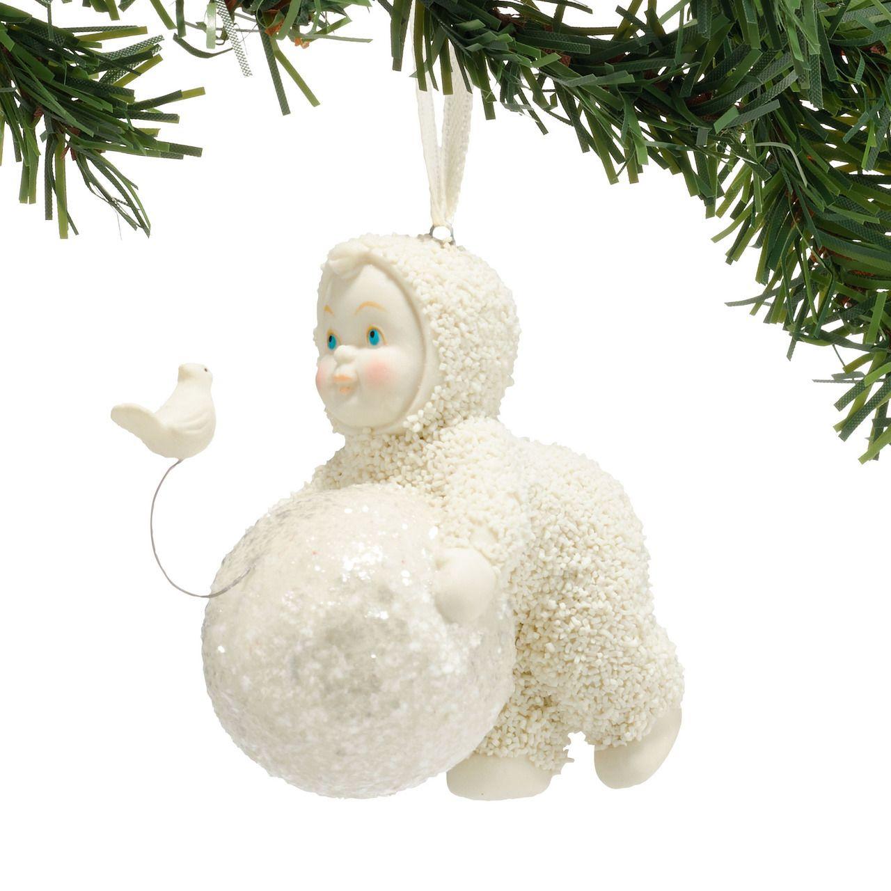 Snowbaby ornaments - Snowbabies Let S Build A Snowman Ornament Always Forever