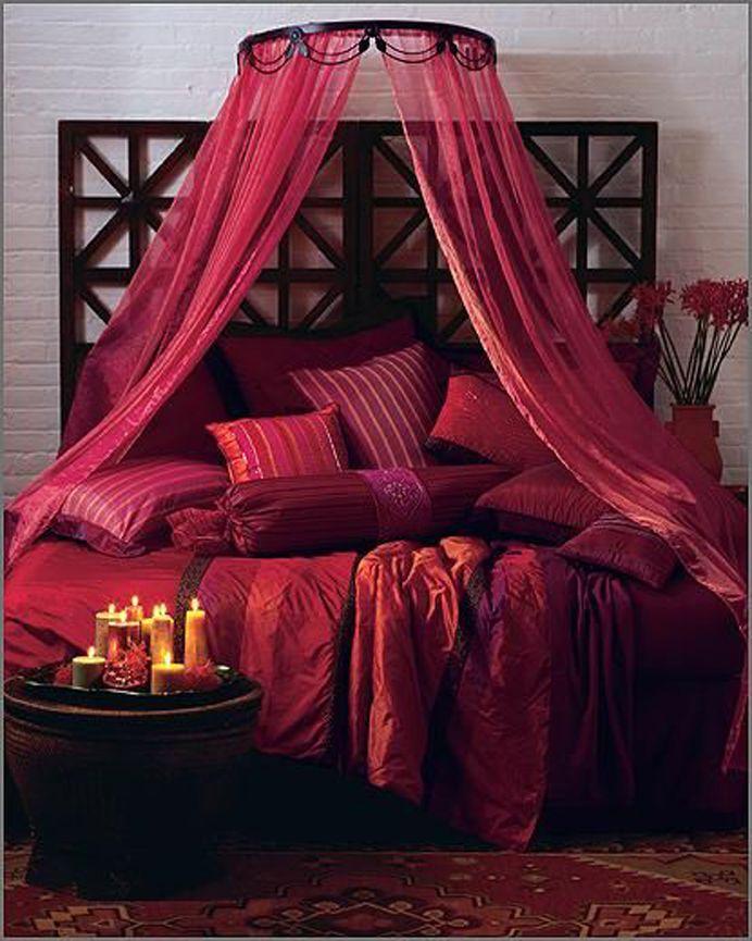 Romantic Red Bedroom Ideas: Valentine Bedroom Decor, Home Decor