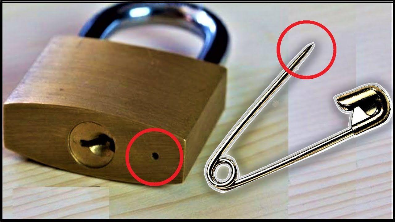 6 Ways To Open A Lock New Lock Picking Tools Diy Lock Life Hacks Youtube