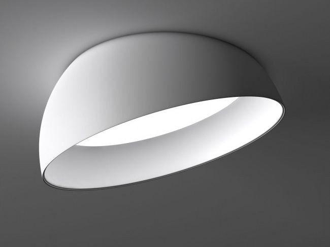 LED verstellbare Vorbauleuchte SUPERDOME RECESSED by Delta Light