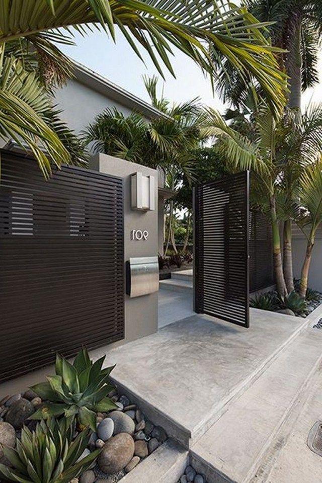 55+ Lovely Modern Home Gates Design Ideas
