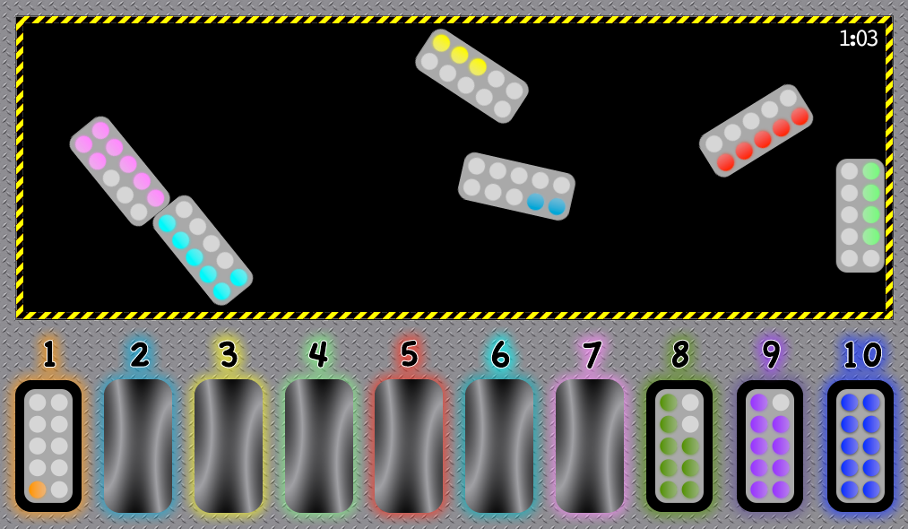 Number Capsules..Free online game for EYFS/KS1 | Early Years Maths ...