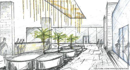 Interior Design Color Sketches interior design color sketches - google search | interior :: hand