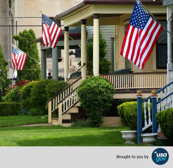 Usagov S Guide To Displaying The American Flag Displaying The