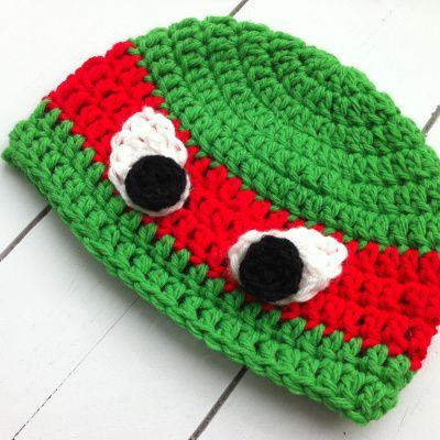 Crochet Ninja Turtles Hat | chucksforchancho | For The Love Of ...