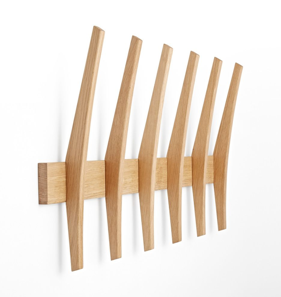 Brendon Farrell Fin Hook Rack Rejuvenation Hook Rack Wall Hooks Rack Design