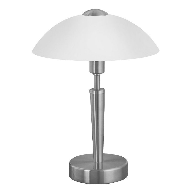 Eglo Solo 1 Table Lamp Touch Table Lamps Nickel Table Lamps Table Lamp