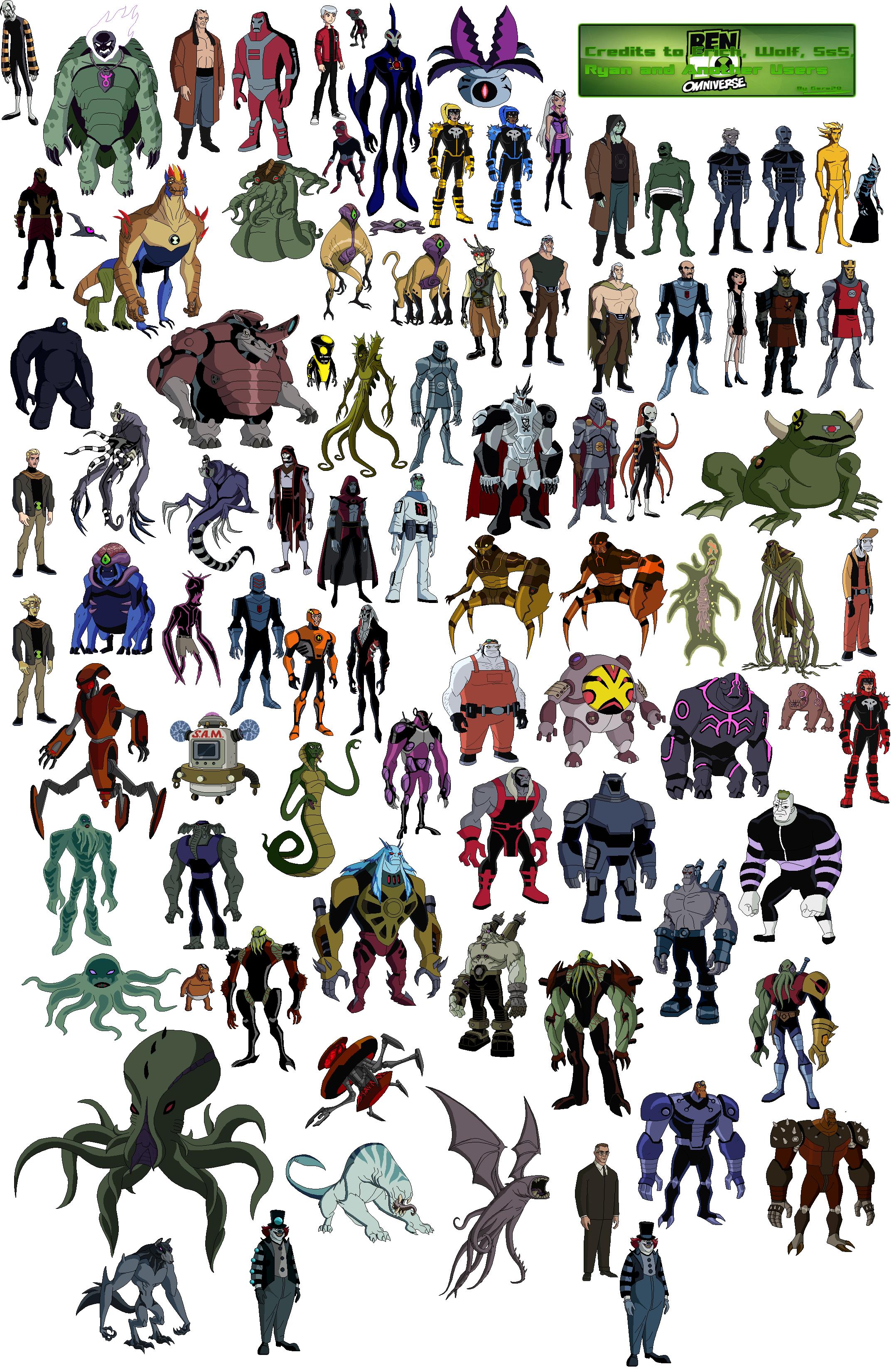 самостоятельно рассчитать все герои из омнитрикса список с фото идее создателей