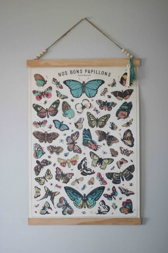 Create Your Own Poster Frame To Hang Large Prints Diy