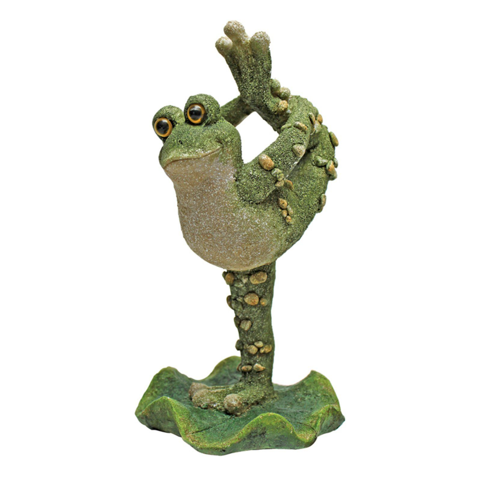 Design Toscano Boogie Down Dancing Frog Statues – Leg Up