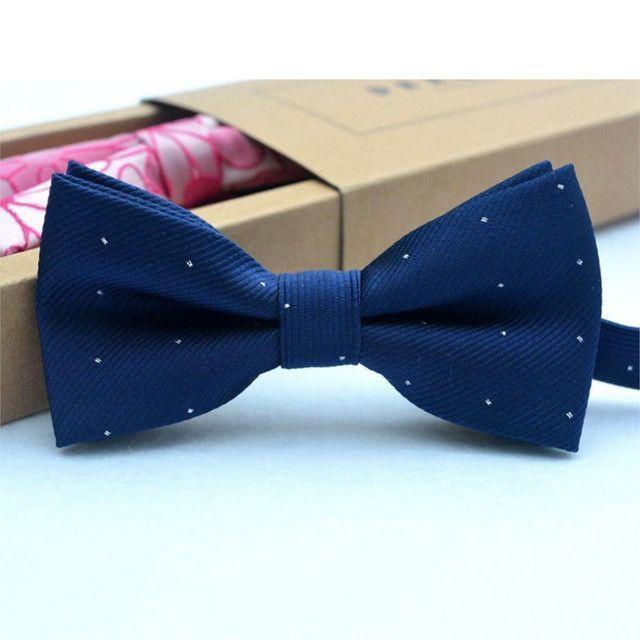 Boys Bow Tie Adjustable Bowtie UNISEX Boy Girl MIDNIGHT BLUE DARK NAVY