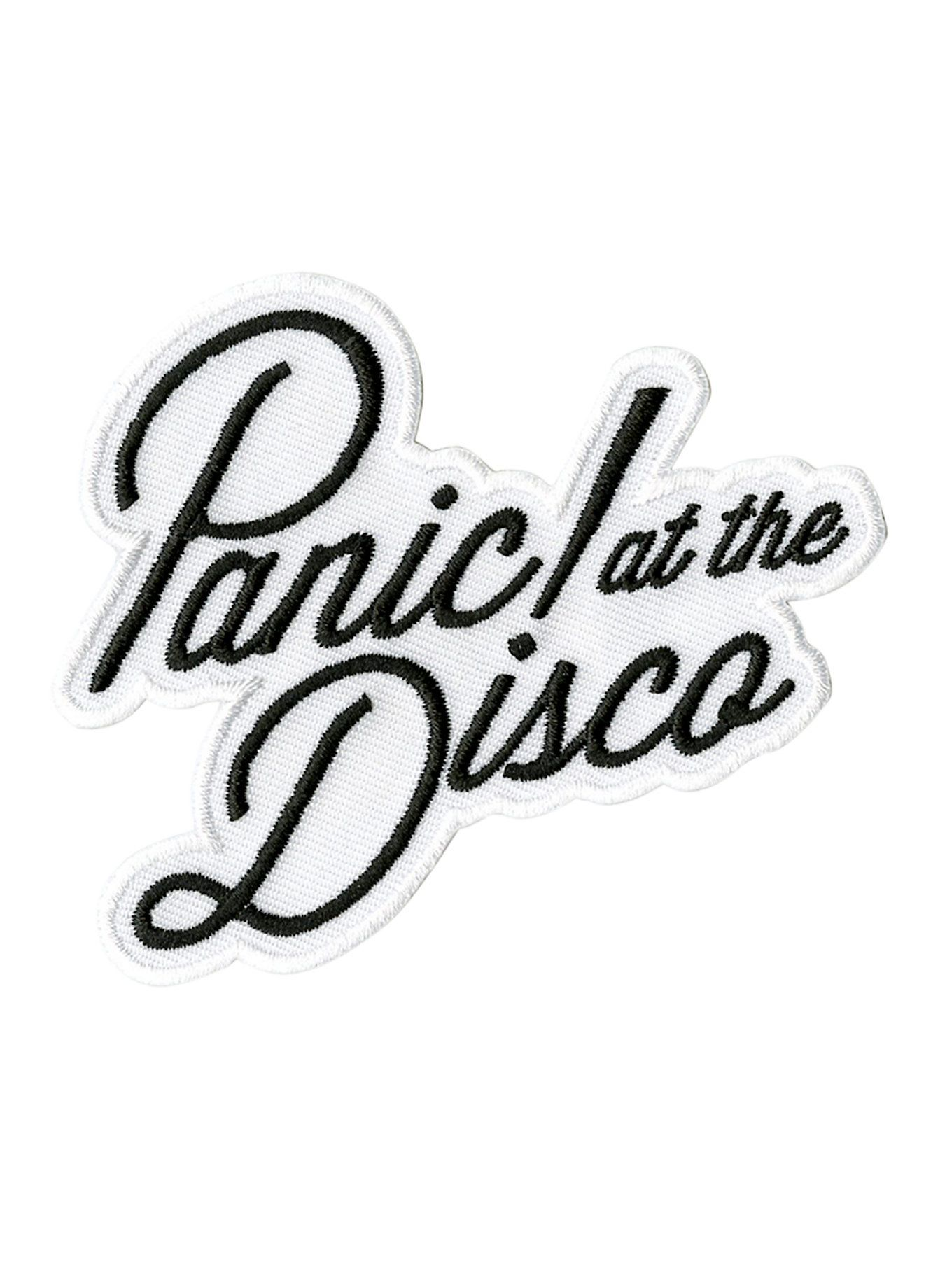 Iron-on patch from Panic! At The Disco with embroidered ...