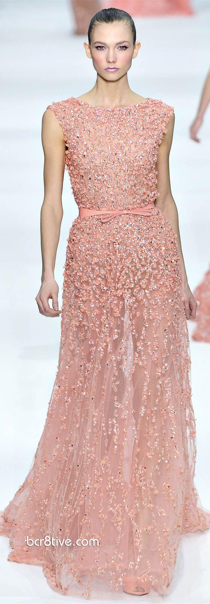 Elie Saab Spring Summer 2012 Haute Couture | Vestiditos, Alta ...